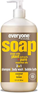 Everyone 3-in-1 Soap, Coconut and Lemon, 32 Ounce