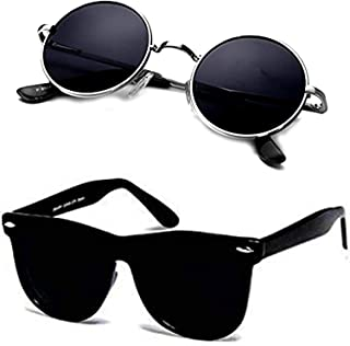 Ivonne new Collection Men's Sunglasses Black pack 2