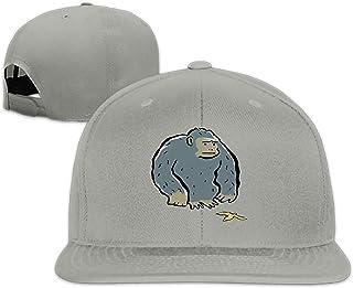 f5dcf51f5f5 EXMENI Camping Hair Green Gorilla Unisex Adult Adjustable Trucker Dad Hats
