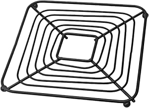 Cabilock Hot Pots Pans Coaster Vintage Iron Art Heat Resistant Cookware Holder Mat Pad Anti Skid Table Trivets Coaster for...