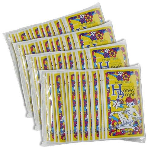 ハニードロップス(Honey Drops) 20ml 使い切りローション スタンダード柄 × 80個