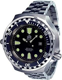 Sponsored Ad - Tauchmeister Germany Big Size Diver Watch - Stainless Steel Strap T0265-M