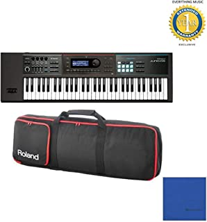 Roland JUNO-DS61 61-key Synthesizer with Gigbag RAM-4879 Bundle with Microfiber and 1 Year Everything Music Extended Warranty
