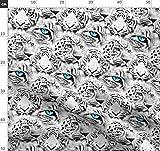 Katzenhaft, Katzen, Gepard, Animal Print, Tiger Stoffe -