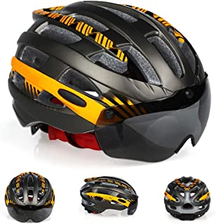 ZGYQGOO Lightweight Skate Road Cycling Racing Helmet Specialized for Mens Womens Safety Protection and Breathable
