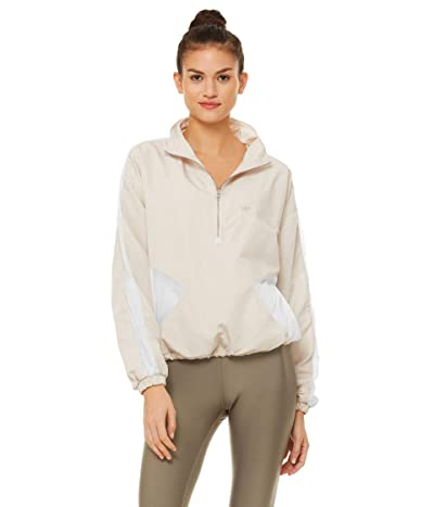 ALO Renewal 1/2 Zip Pullover (Bone/White) Women