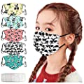 ?USA in Stock Fast Delivery? Kids Cartoon Cotton ???????????????? Washable Reusable Dustproof Face_Mask Covering for Children