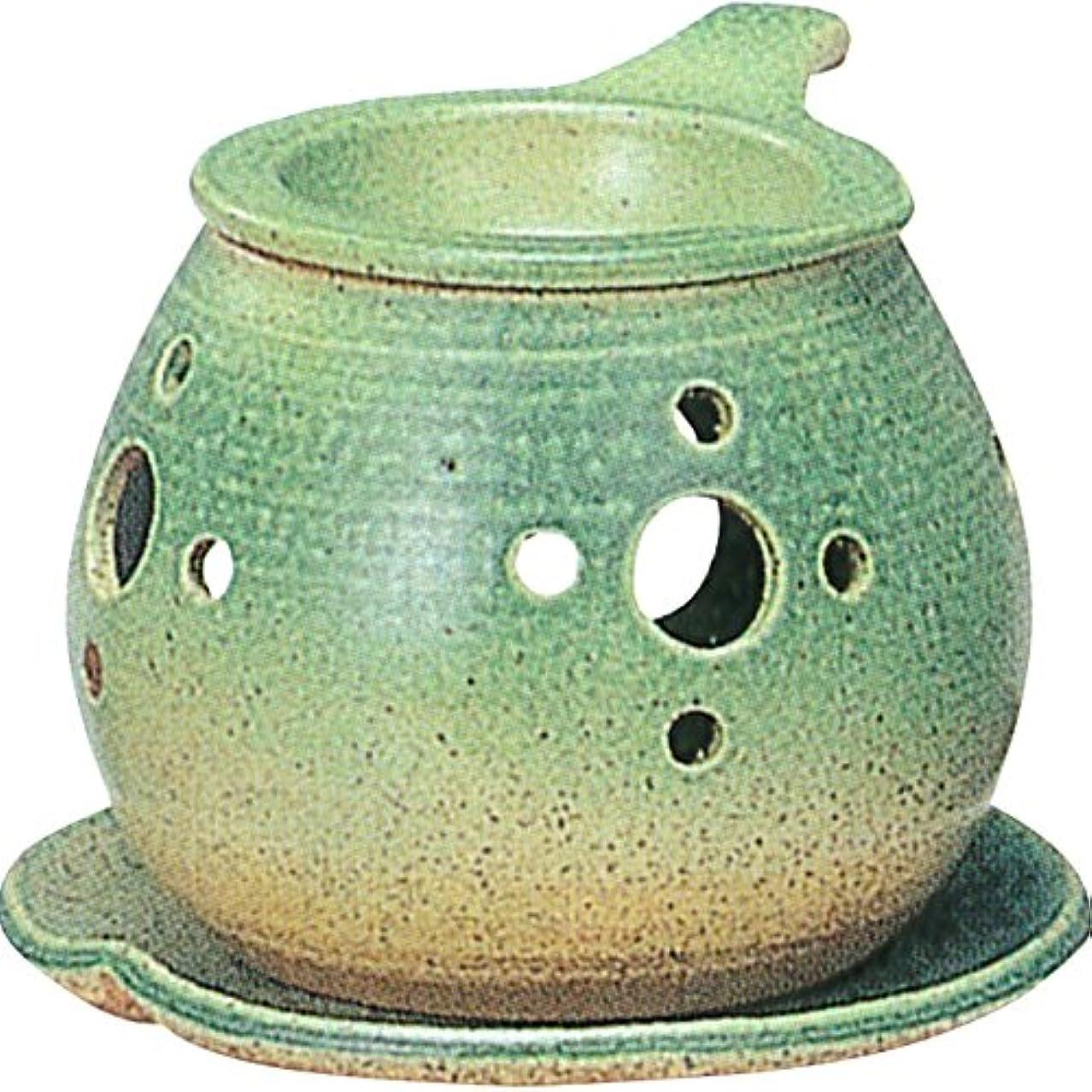 サイクロプスイタリックくしゃくしゃ茶香炉 : 常滑焼 間宮 茶香炉? ル35-02