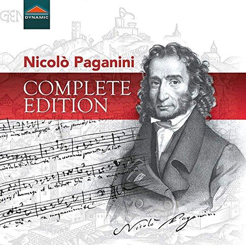 Nicolò Paganini-Complete Edition