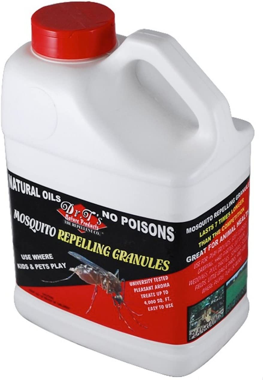 Dr. T'S All Brand new Natural Translated 5Lbs Repellant Granules Mosquito