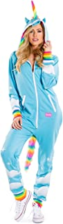 Women's Sexy Unicorn Onesie - Cute Comfy Adult Unicorn Costume Jumpsuit for Halloween