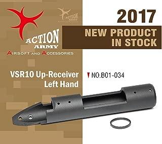 Action Army B01-034 VSR10 Full CNC Left-Hand Upper for Tokyo Marui VSR-10 Well MB02 MB03