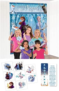 Frozen 2 Birthday Princess Party Bundle: Scene Setter with Props, Tattoos and an Exclusive ElevenPlus 2 Bookmark