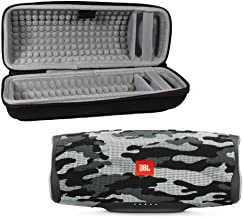 JBL Charge 4 Waterproof Wireless Bluetooth Speaker with Hard Travel Case (Black Camo)