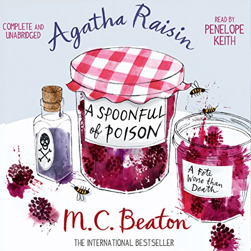 Agatha Raisin and a Spoonful of Poison cover art