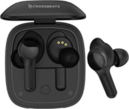 CrossBeats Torq Touch True Wireless in-Ear Headphones with In-Ear Detection, Wireless Charging 3D Sound 3Days Playtime Aut...