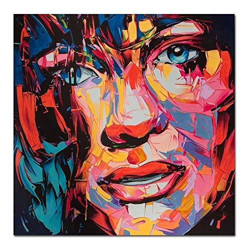 Puzzle de 1000 Piezas para Adultos 50x75cm Retratos Coloridos Puzzle Rompecabezas para Niños Grande Educativo El Alivio del Estrés uguete para Adultos Niños