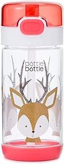 11.5/12oz Tritan Leak Proof Kids Water Bottle - BPA Free Travel Mug with Flip Lid and Straw