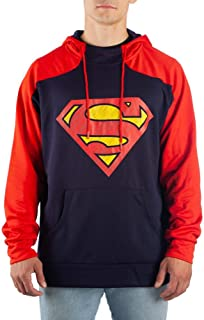 Superman Pullover Hoodie Superman Apparel - Superman Clothing Superman Hoodie Superman Gift