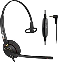 agptek phone headset