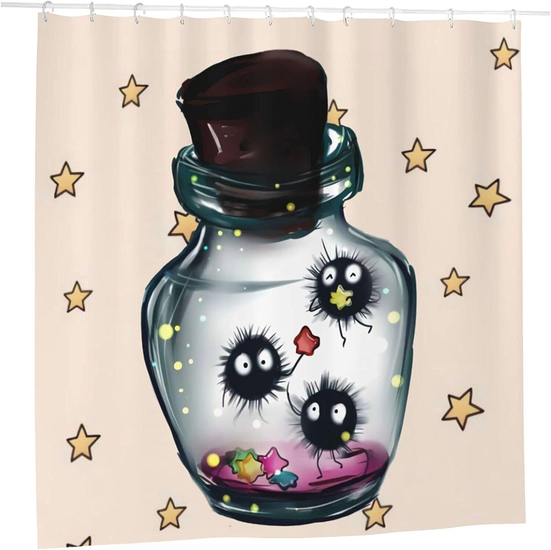 Spirited Away Anime Bathroom Shower Curtain Liner X 72