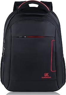 Mochila Portatil,Fanspack Mochila Hombre Impermeable Oxford Mochila Ejecutivo Bolso Mochila de Transporte para Ordenador portátil 14 Pulgadas Negro