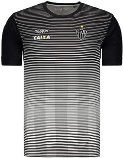 Camisa Topper Atlético Mineiro Concentração 2017 - Cinza - 4200232-324