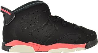 5889dec96261 Jordan 6 Retro (TD) Baby Toddlers Shoes Black Infrared-Black 384667-