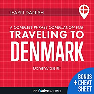 Learn Danish: A Complete Phrase Compilation for Traveling to Denmark cover art