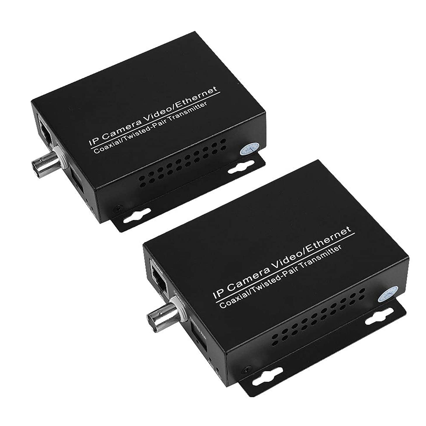 計画的信仰断言する無線LAN中継器 WiFi中継機 保証CCTVのカメラ 同軸キット EoCの同軸ケーブル 監視カメラ 同軸キット イーサネットIPの延長器(1組)