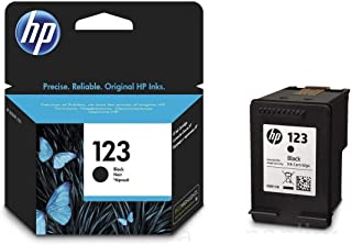 HP05O|#HP HP 123 Black Ink Cartridge HP 123 Black Original Ink Cartridge Black ( )