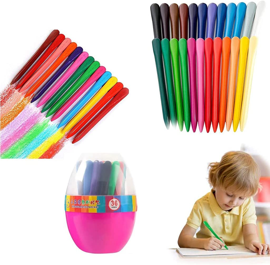Preschool Crayons 36 San Diego Mall Colors Triangular Tri Kids Toddlers Max 46% OFF