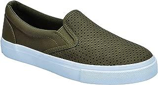 Women's Preforated Slip On Sneakers
