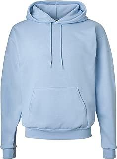 Hanes ComfortBlend EcoSmart Pullover Hoodie Sweatshirt, Light Blue