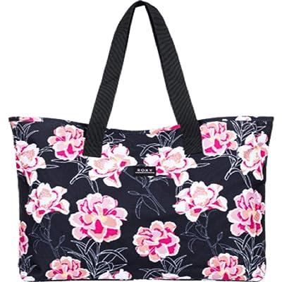 Roxy Wildflower Printed Tote (North Atlantic Heritage Hawaiian) Tote Handbags