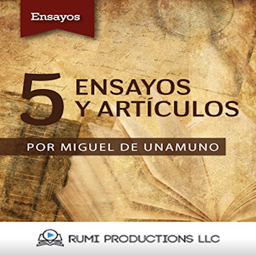5 Ensayos y Artículos [5 Essays and Articles] audiobook cover art