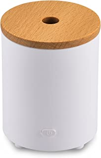 AromaAllure Essential Oil Diffuser, Waterless Portable Mini Oil Diffuser for Car, Office and Closet