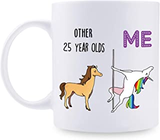 25th Birthday Gifts for Women - 1994 Birthday Gifts for Women, 25 Years Old Birthday Gifts Coffee Mug for Mom, Wife, Friend, Sister, Her, Colleague, Coworker - 11oz