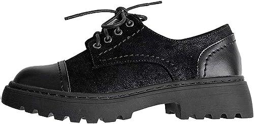 Mocassins Spring Sen Chaussures De Femme en Cuir Petites Femmes Britanniques Soeur Douce Couture Chaussures Plate-Forme Rétro