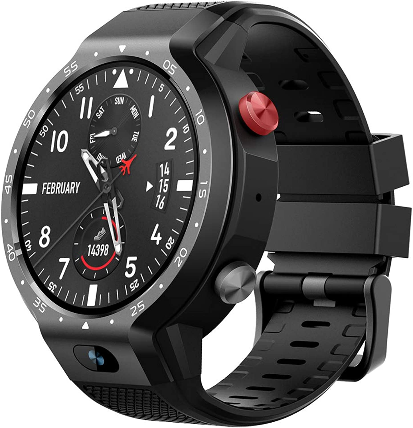 OOLIFENG GPS Smartwatch with SIM Card Slot, IP67 Waterproof Wrist Watch with Heart Rate Monitor Activity Tracker