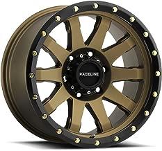 Raceline 934BZ Clutch 20x10 8x170 -19mm Bronze/Black Wheel Rim