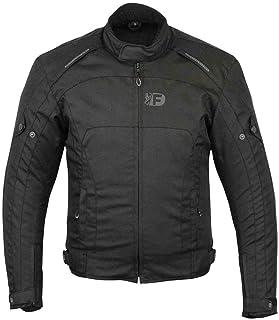 Freeday Rider 2 Herren Motorradjacke für den Winter, Schwarz 3XL Schwarz