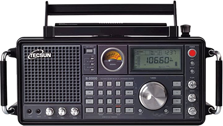 Tecsun s-2000 ham amateur radio ssb dual conversion pll fm/mw/sw/lw air band (s-2000) B071LGLH2Y