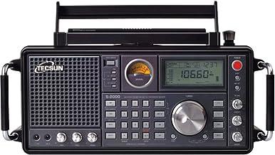 TECSUN S-2000 Ham Amateur Radio SSB Dual Conversion PLL FM/MW/SW/LW Air Band (S-2000)