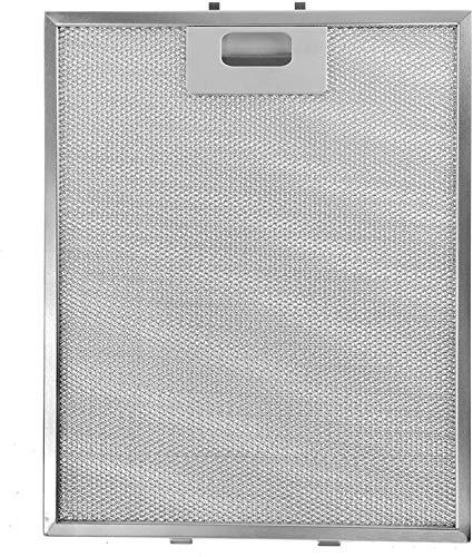SPARES2GO Metallnetzfilter für Homeking FW60.2SS Dunstabzug/Abzugshaube Vent (Non-Universal, 318 x 258 mm)