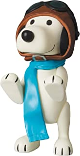 Medicom Peanuts: Vintage Snoopy Pilot Version Ultra Detail Figure, Multicolor