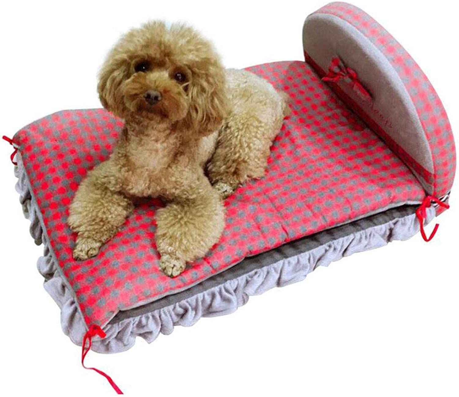 Pet Bed Puppy Nest Pet Nest, Autumn and Winter Dog House, Dog Bed