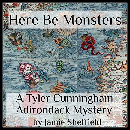 Here Be Monsters audiobook cover art