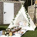 Huge Teepee, Avrsol 85 inch Height Luxury Lace Teepee Tent