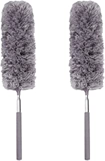 SKEIDO 1 pcs Car Cleaning Tools Creative Stretch Extend Microfiber Dust Shan Adjustable Feather Duster Household Dusting B...